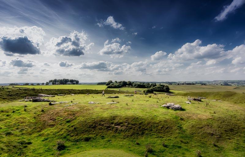 Grafschaft Derbyshire Arbor Low