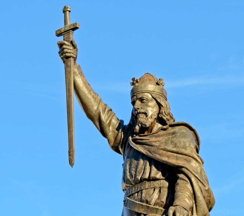 König Artus Statue