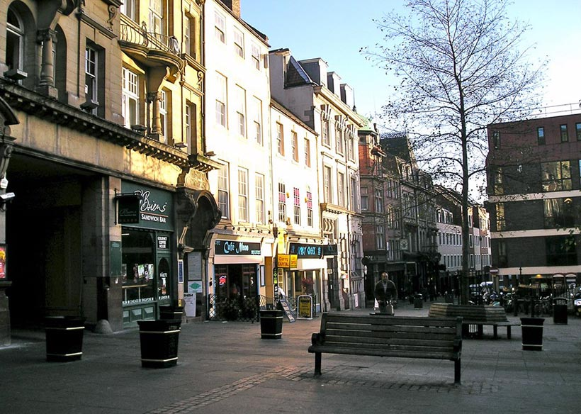 Bigg Market Newcastle