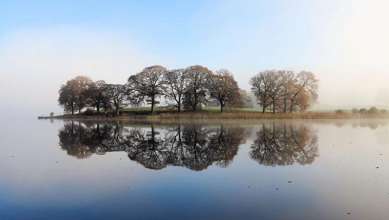 Grafschaft Cumbria Esthwaite