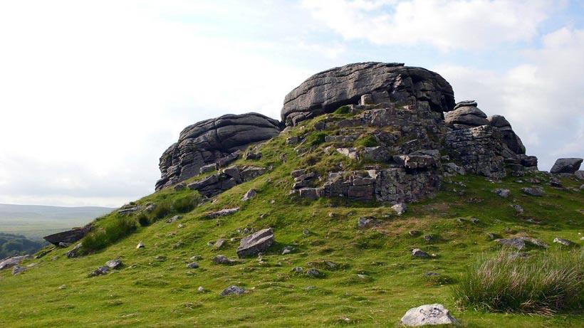 Dartmoor Klettern Tor