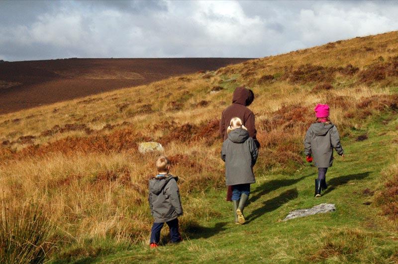 Wandern im Dartmoor