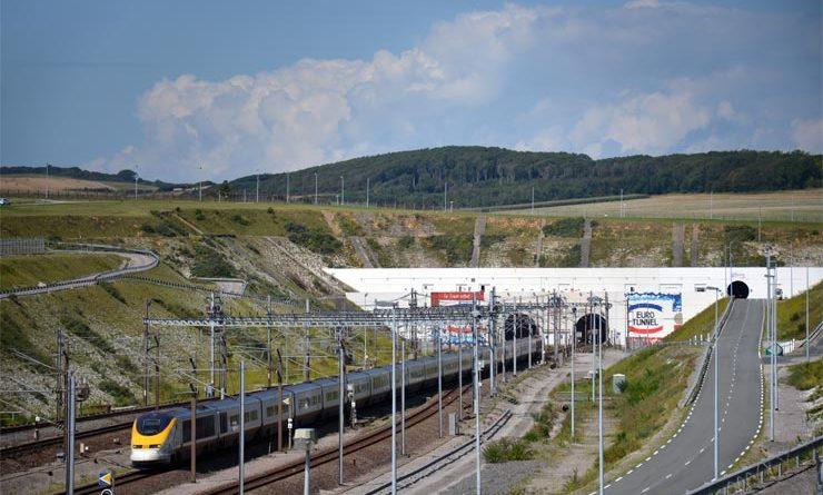 Eurotunnel Anreise England