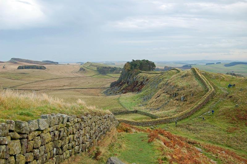 Hadrianswall UNESCO Northumberland