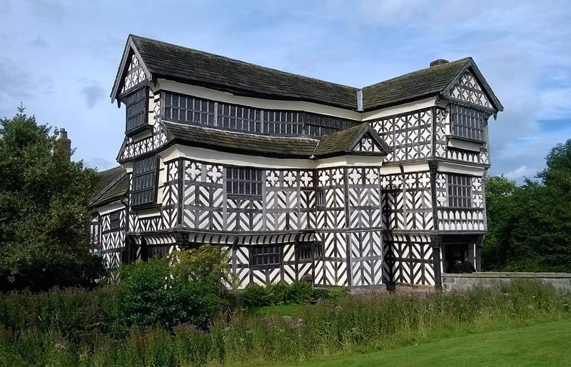 Little Moreton Hall Cheshire