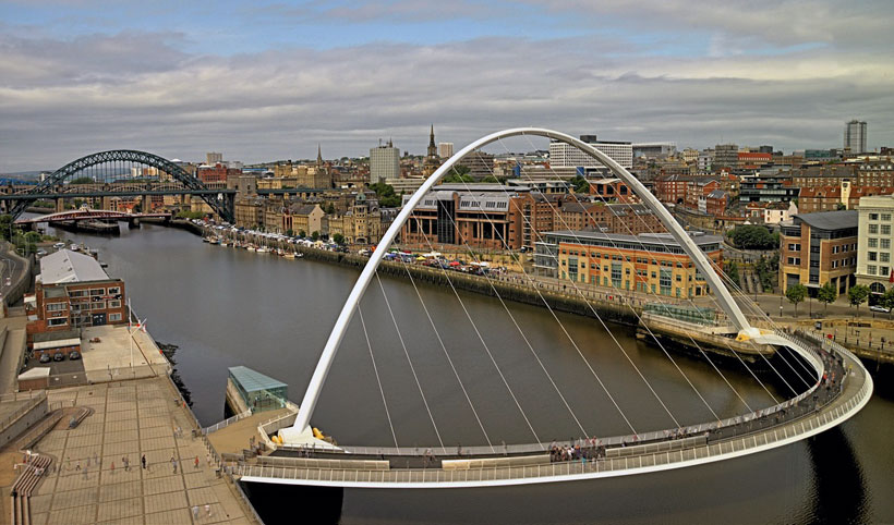 Newcastle Gateshead Millennium Bridge