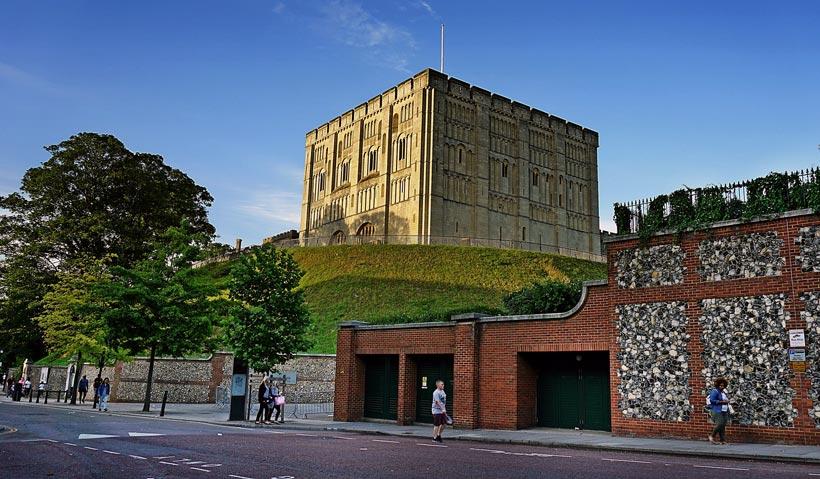 Burg Norwich Castle