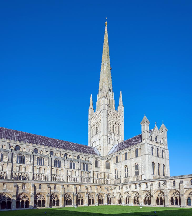 Norwich Cathedral/Kathedrale