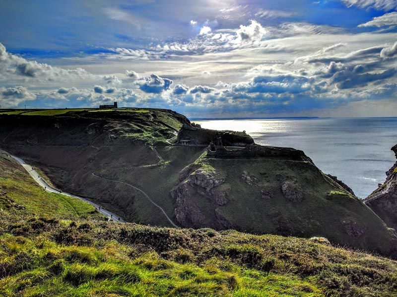 Tintagel Castle Cornwall
