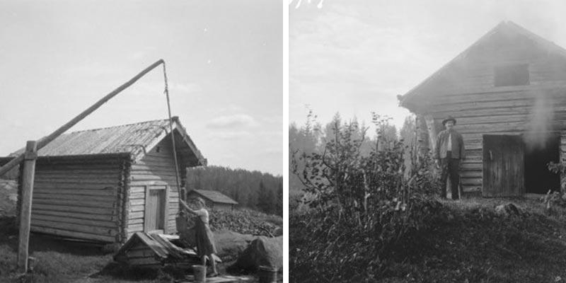 Waldfinnen Geschichte Finnland