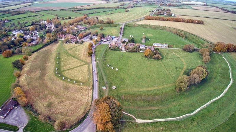 Avebury Steinkreise, Grafschaft Wiltshire