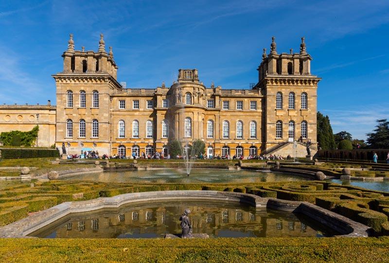Blenheim Palace Oxfordshire Grafschaft