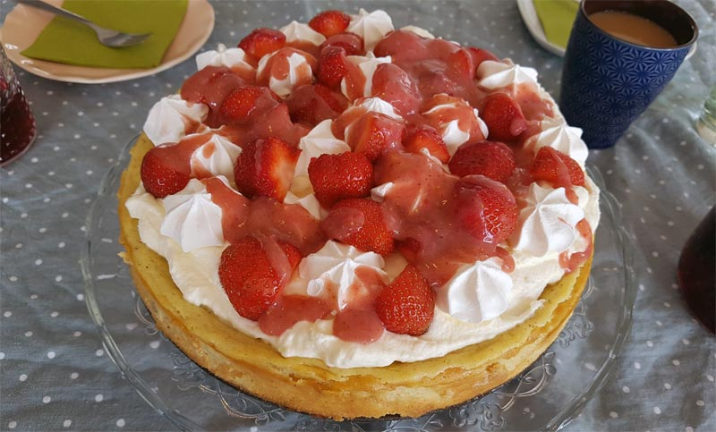 Eton Mess Cheesecake Rezept