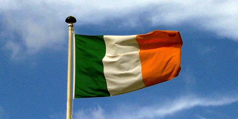Irland Flagge irische Fahne