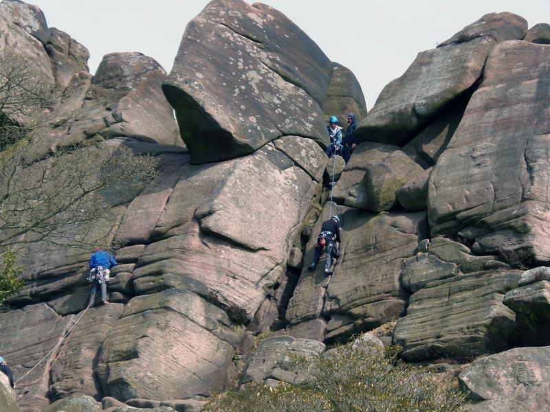 Klettern Wandern Staffordshire