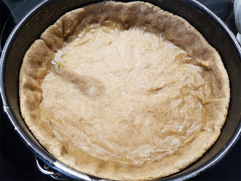 Kuchenboden vorgebacken