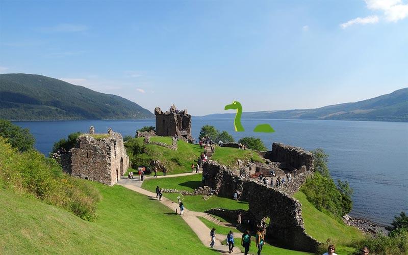 Eungeheuer von Loch Ness