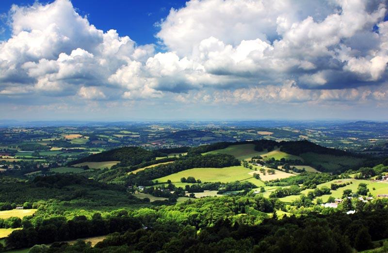 Malvern Hills Worcestershire