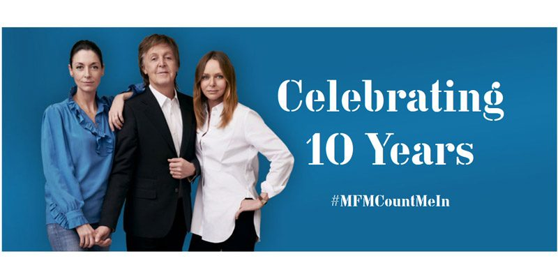 Paul McCartney 10 Jahre Meat Free Monday