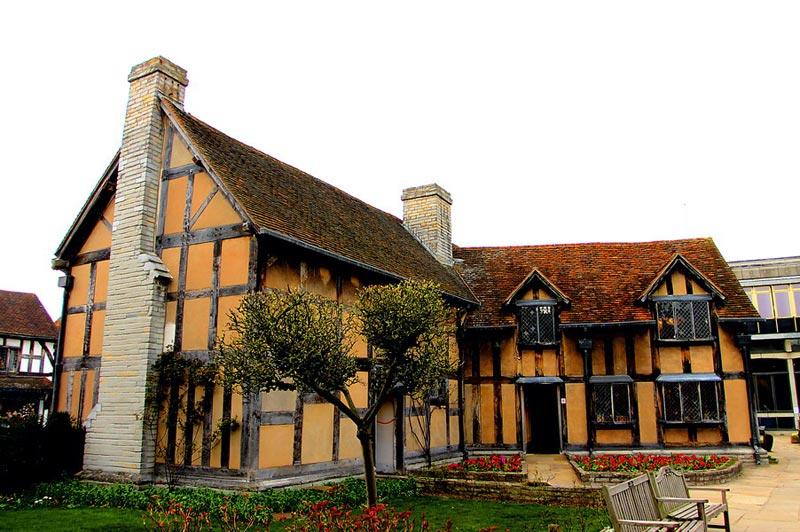 Stratford Geburtsthaus William Shakespeare