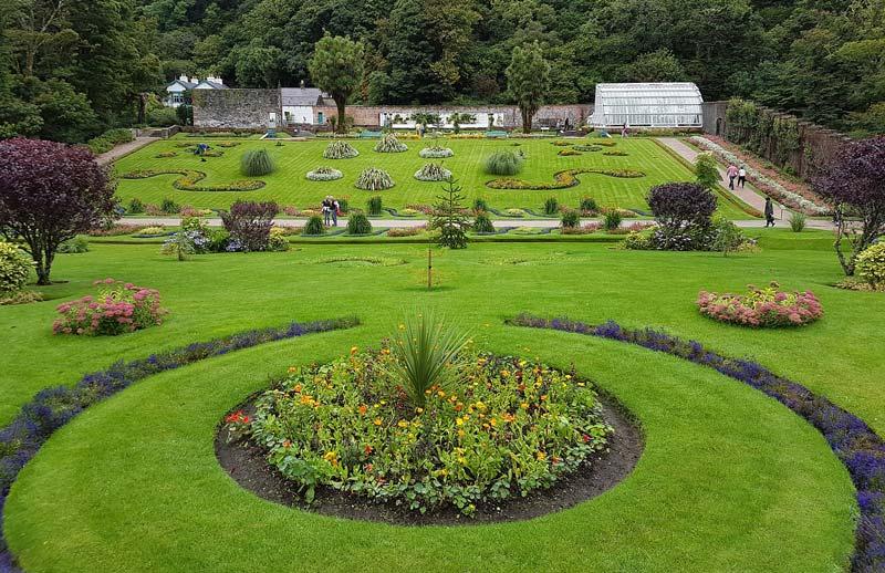 viktorianischer Mauergarten