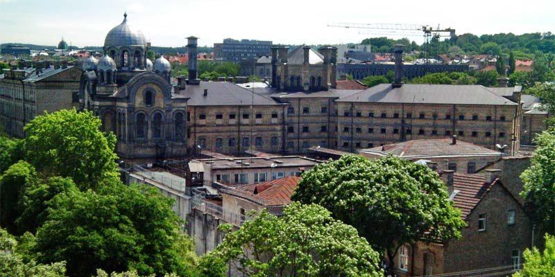 Was wird aus dem Gefängnis mitten in Vilnius?