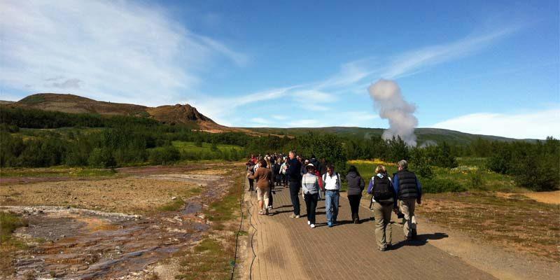 Anzahl der Touristen in Island rückläufig