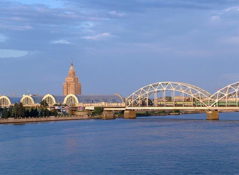 Riga Städtereise Daugava