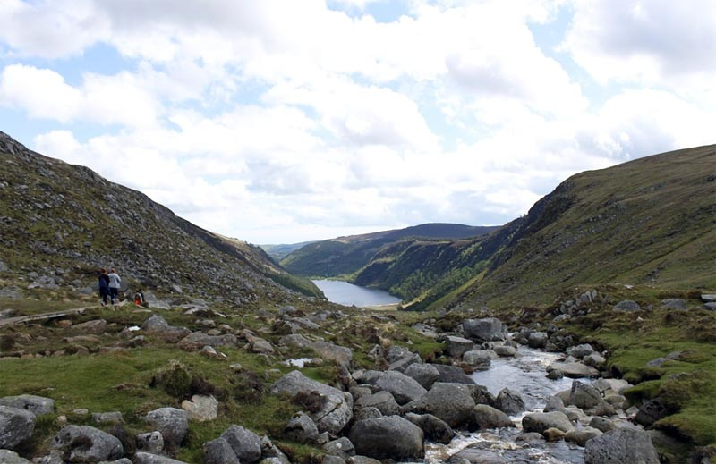 Wandern Blendalough