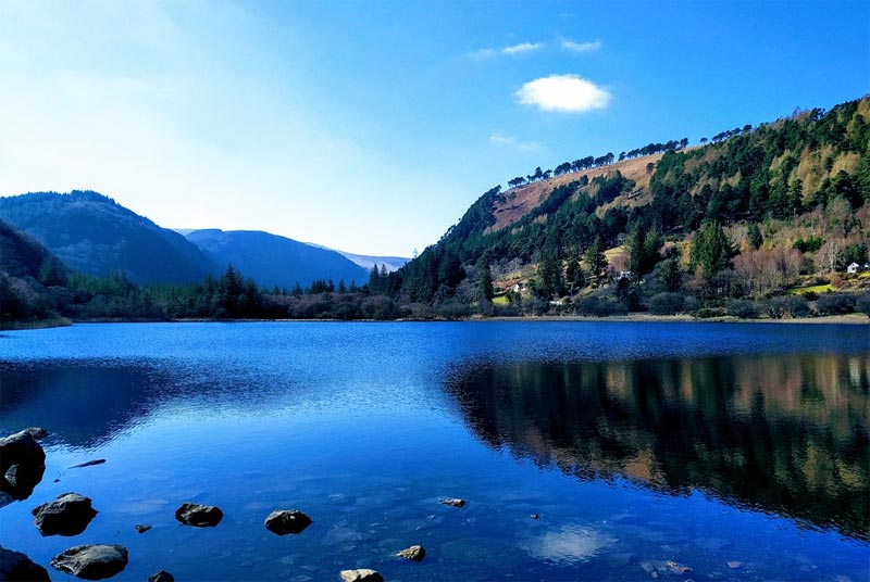Lower Lake Wicklow Mountains Nationalpark