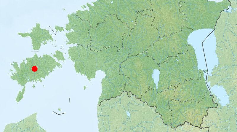Landkarte Saaremaa