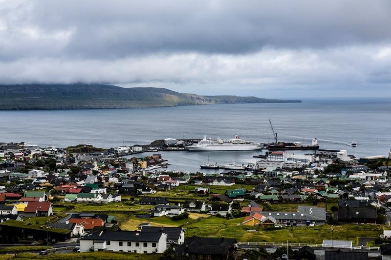 Torshavn Färöer Inseln
