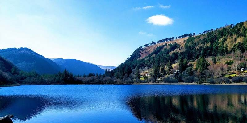 Wicklow-Mountains-Nationalpark wandern