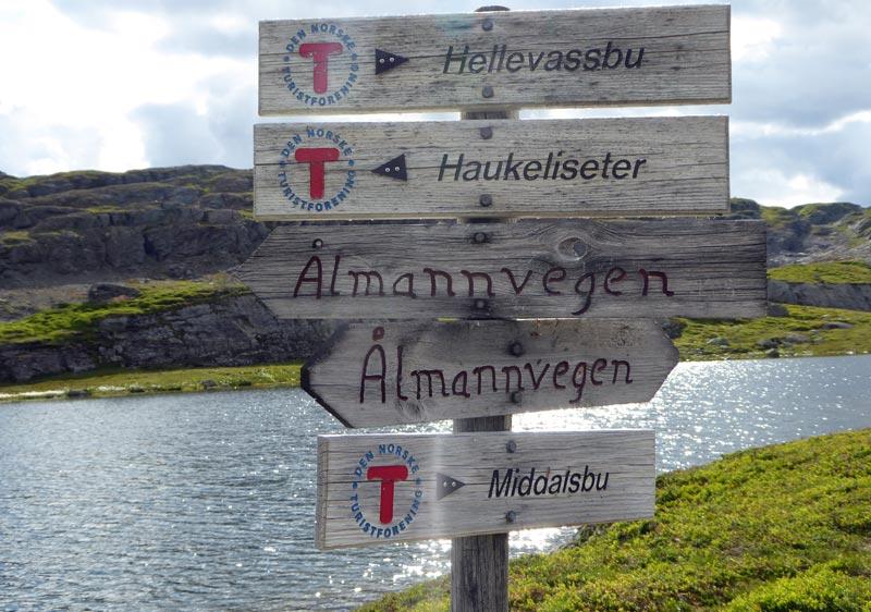 Wandern Hårteigen