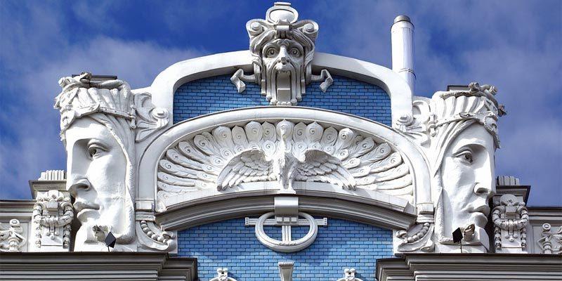 Architektur riga Sehenswürdigkeit