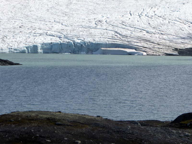 Bergsee Gletscher