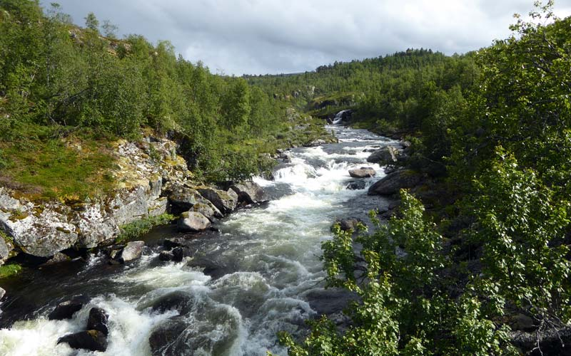Bjoreio Fluss