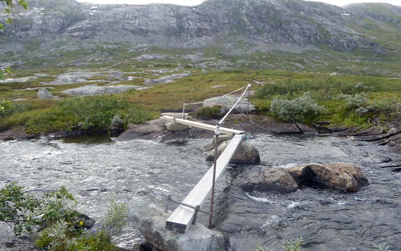 Flussquerung Trekking