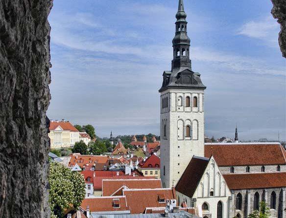 Heiliggeist-Kirche Pühavaimu Sightseeing