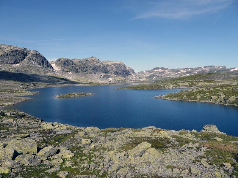 Norwegen See Trekking