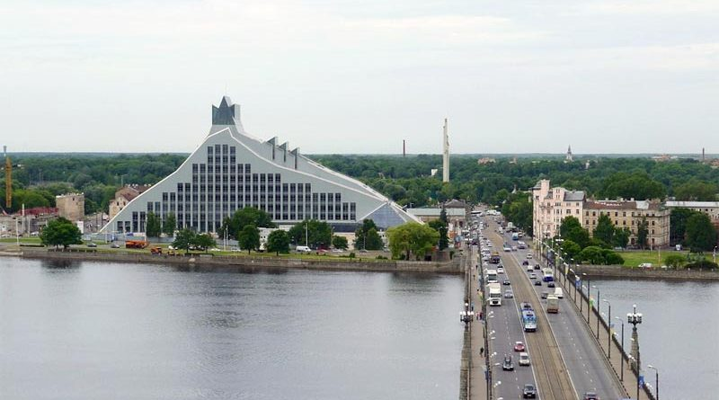 Lettische Nationalbibliothek Riga