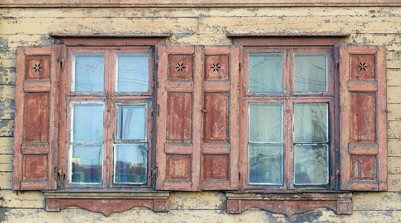 Holzarchitektur Riga