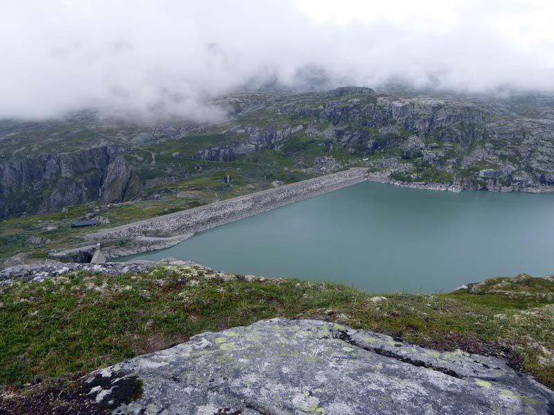 Staudamm Rembesdalsvatnet