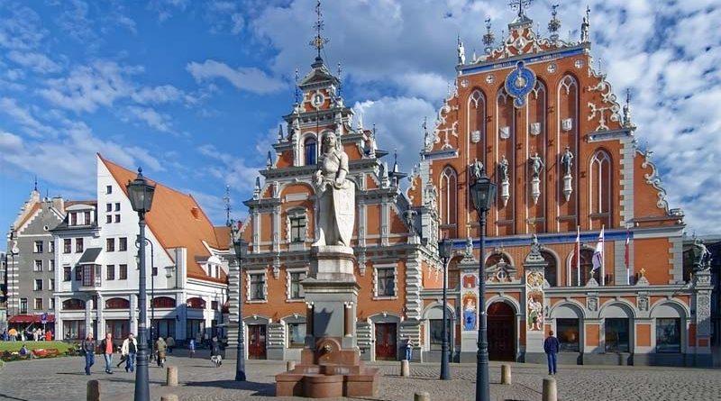 Schwarzhäupterhaus Reiseziel Lettland