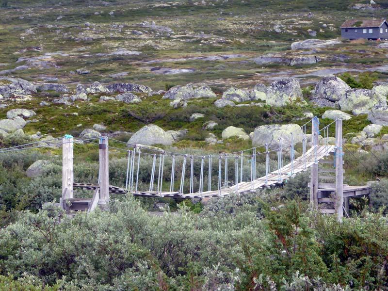 Sommerbrücke vor Hadlaskard