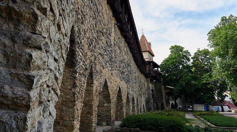 Sehenswürdigkeit Statdtmauer Tallinn