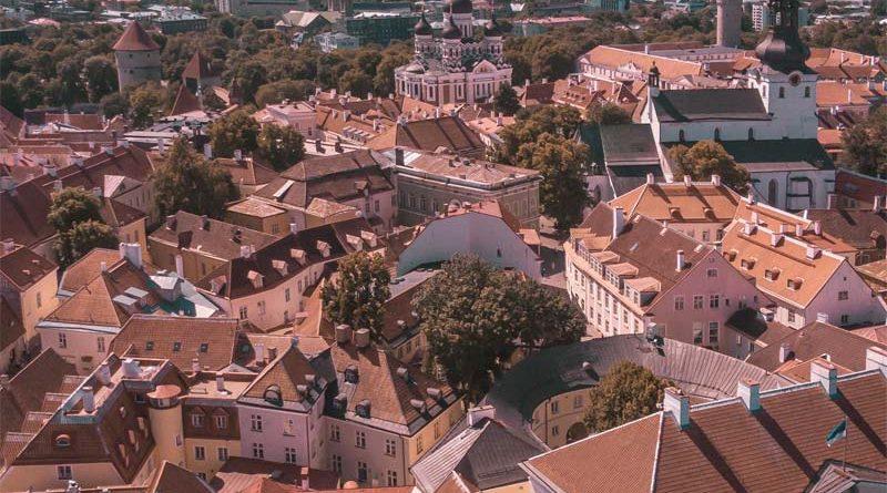 Tallinn Altstadt von oben