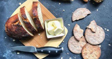Rezept Tunnbröd Franskbrød Knäckebrot