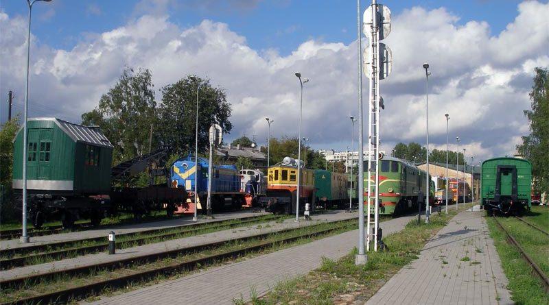 Eisenbahnmuseum Lettland