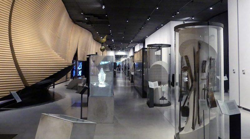Dauerausstellung im Estnisches Nationalmuseum (ERM) in Tartu